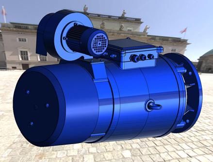 крановые двигатели с тормозом Италия, независимая вентиляция, до 75 кВт IP55 IP23, одно двух и трехскоросные